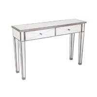 Apolo Console Table - Antique Silver Black