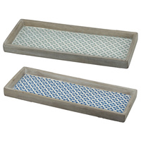 Mustique Tray Set