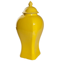 Yellow Ginger Jar