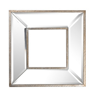 Antique Mirror Wall Art Square
