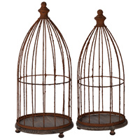 French Bird Cages set of 2