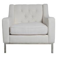 Alfred Arm Chair Ivory