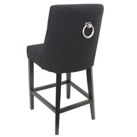 Philippe Dining Chair Mid-night Black Stud Element