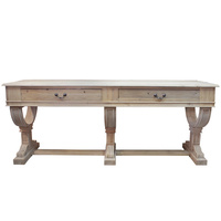 Curtis 2 Drawer Console Natural