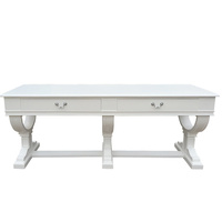 Curtis 2 Drawer Console White