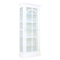 St Germaine Display Case White