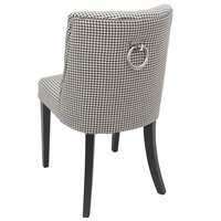 Ophelia Dining Chair Houndstooth