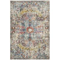 Makblule White Blue Runner Rug 400X80