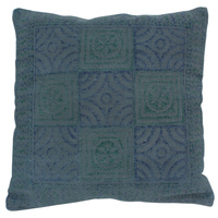 Blue & Green Inca Cushion