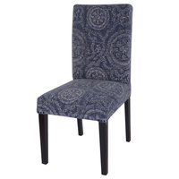 Faded Indigo Dining Circle Chair