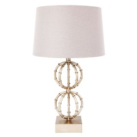 Lela Table Lamp - Antique Silver