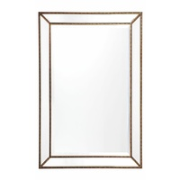 Zeta Wall Mirror - Medium Antique Gold