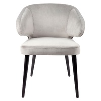 HARLOW DINING CHAIR - GREY