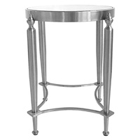Jak Side Table - Nickel