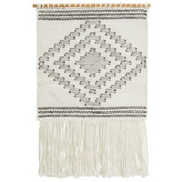 Rug Culture Home 426 White Wall Hanging 90x60cm