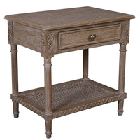 Polo Side Table/Bedside Oak Wash