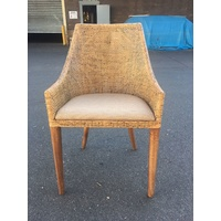 Tennessee Chair Potato Finish w/cushion