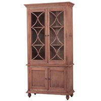 Country Cottage Display Cabinet Natural