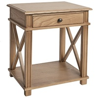 Manto Bedside Table Elm
