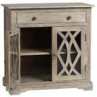 Boston Bedside Antique Grey