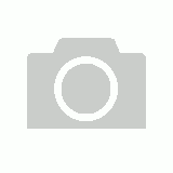 Directors Leather Stool - White