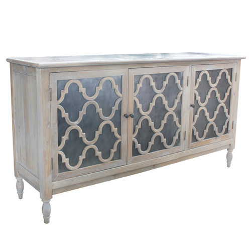 Trellis Sideboard natural reclaimed timber